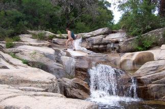 The falls at U-Furu, Corsica