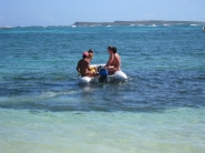From Green Cay back to Orient Beach