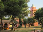 The 'Disneyesque' commercial complex of El Templo del Sol