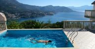 Pool with a view in Montenegro