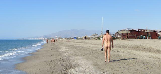 Meandering toward Cota Zero - our beach bar of choice!