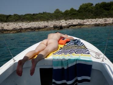 Boating near Hvar
