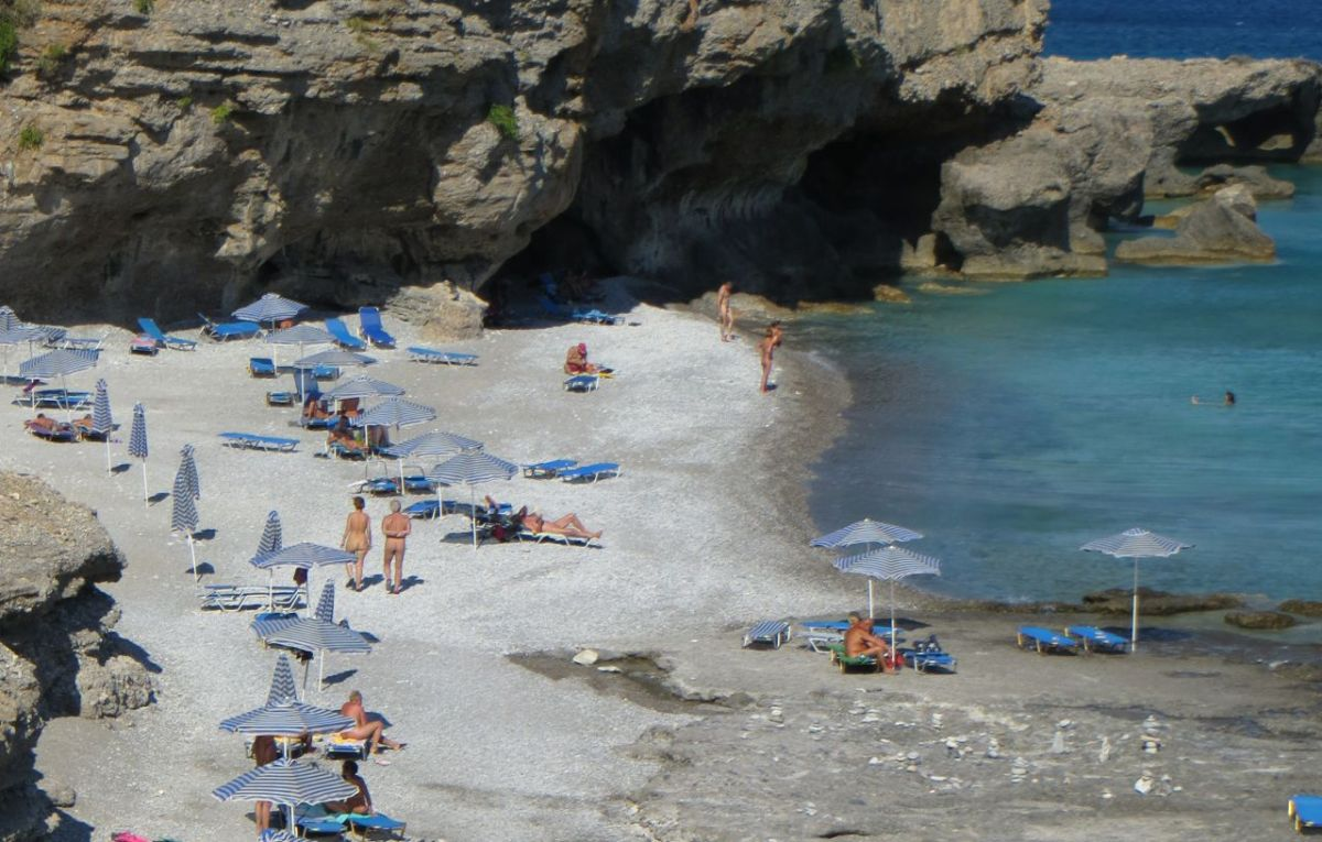A TALE OF THREE BEACHES: The quirky joys of naturism in Greece