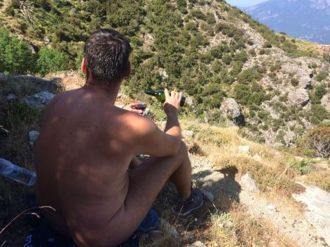 Hiking in Corsica