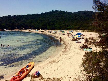 Linguizzetta beach