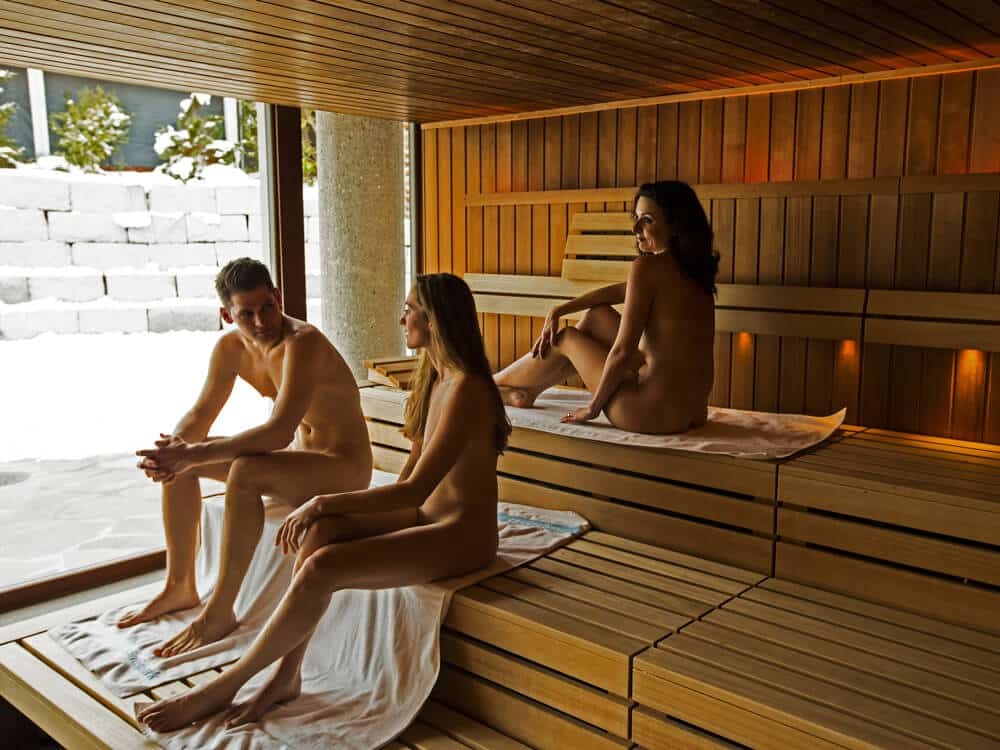 Naked sauna woman images, stock photos vectors